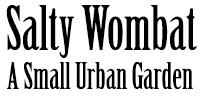 Salty Wombat logo
